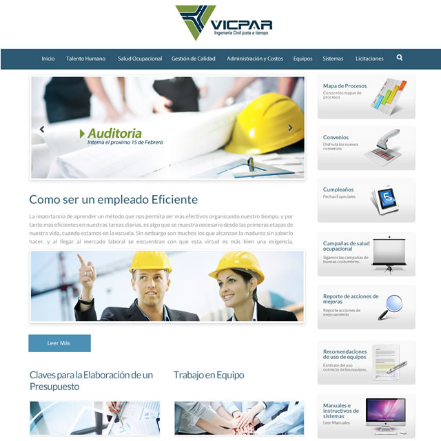 intranet vicpar